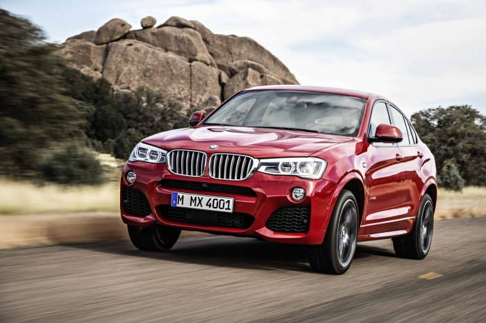 BMW X4 Right - Surf4cars