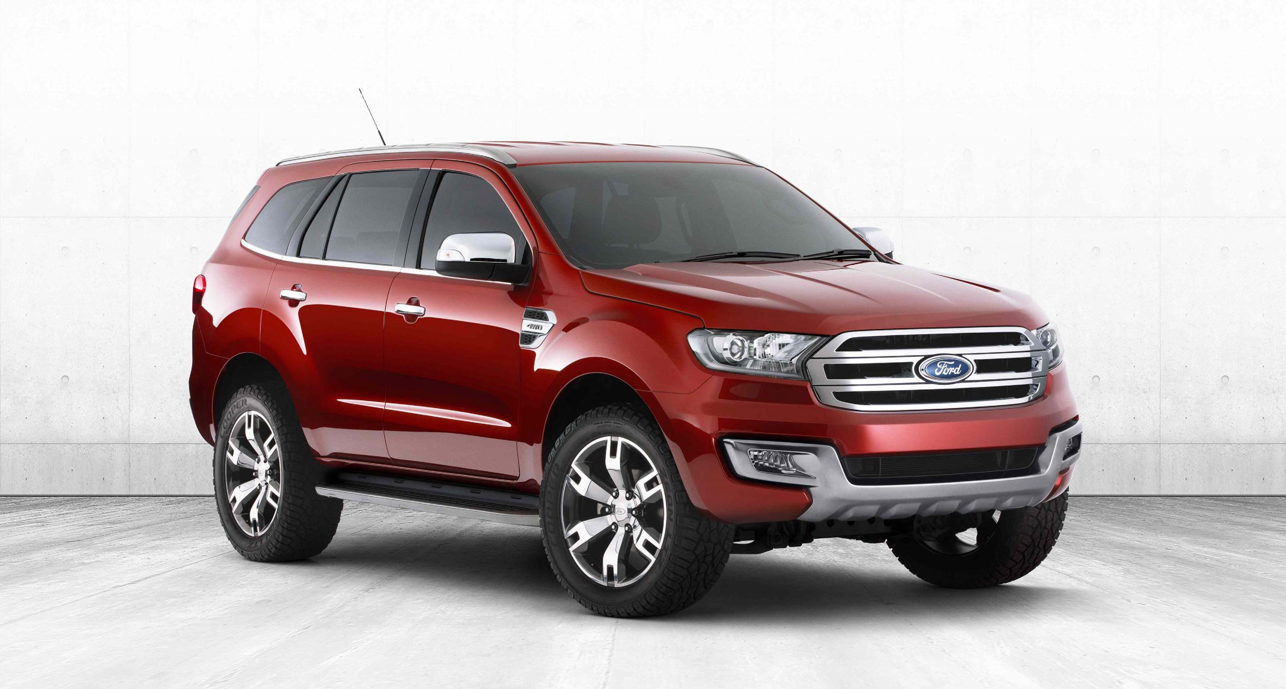 Ford Shows Next Everest: Latest News
