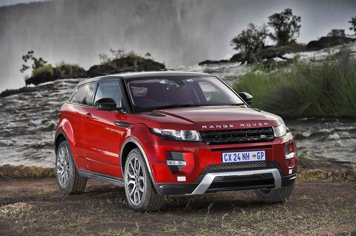 Land Rover Evoque Front - Surf4cars