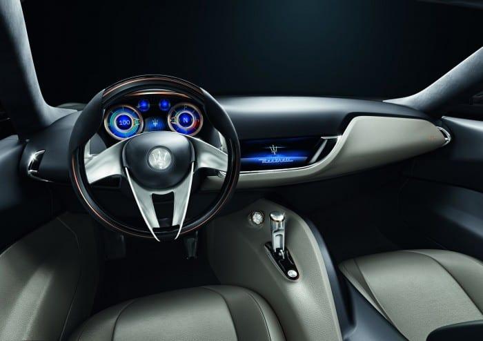 Maserati Alfieri Interior - Surf4cars