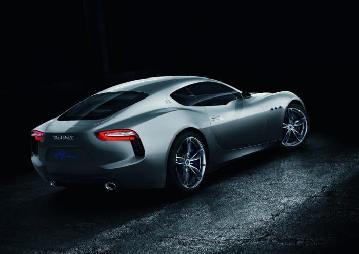 Maserati Alfieri Rear - Surf4cars