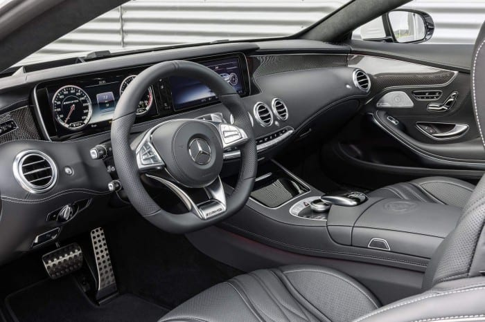 Mercedes-Benz S63 Coupe Interior - Surf4cars