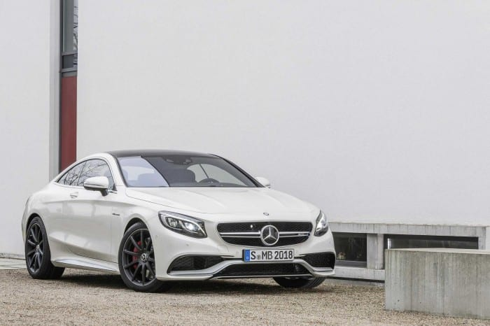 Mercedes-Benz S63 Coupe Static - Surf4cars