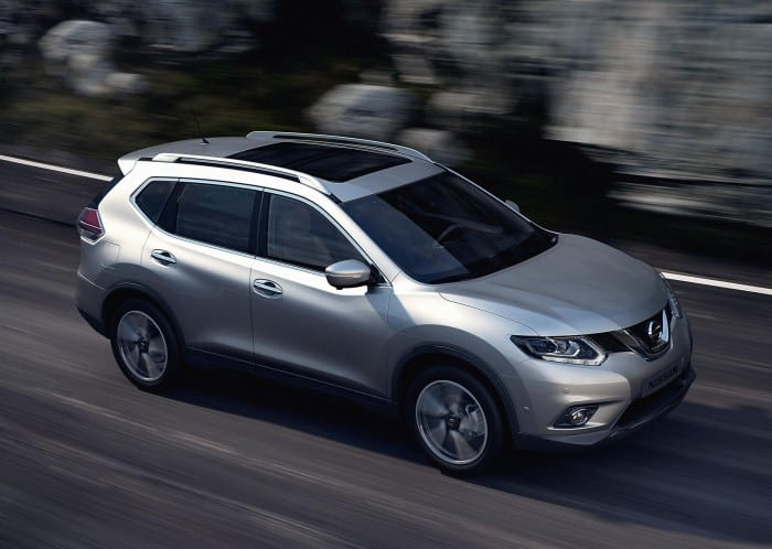 Nissan X-Trail Side - Surf4cars