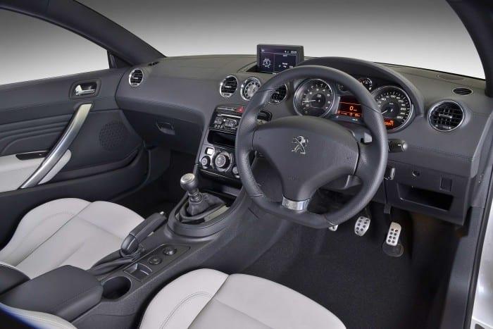 Peugeot RCZ Interior - Surf4cars