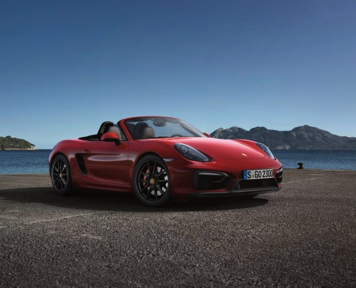 Porsche Boxster GTS Front - Surf4cars