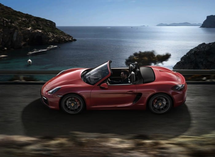 Porsche Boxster GTS Side - Surf4cars