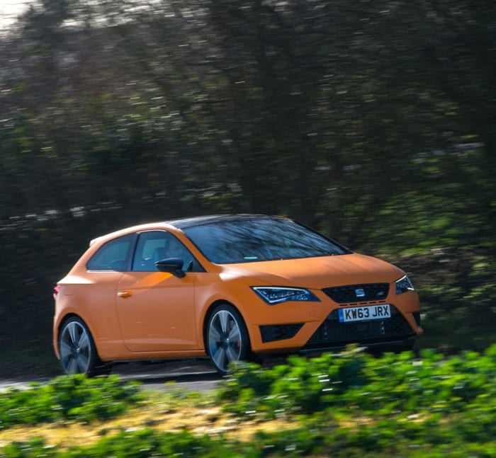 Seat Leon Cupra Motion - Surf4cars