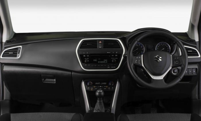 Suzuki SX4 Interior - Surf4cars