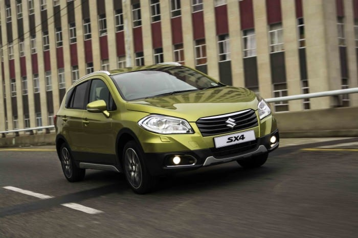 Suzuki SX4 Motion Green - Surf4cars