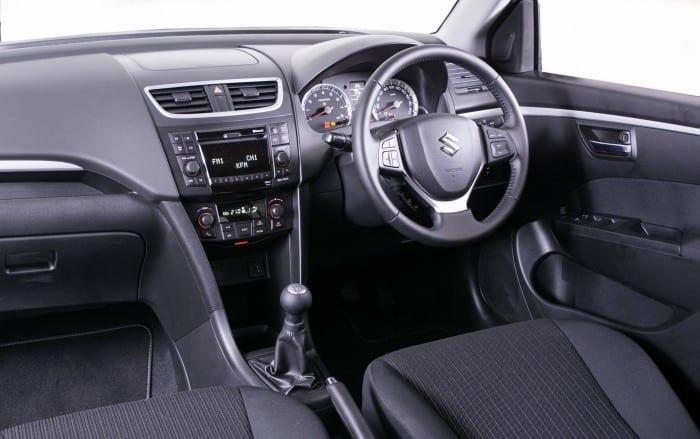 Suzuki Swift 2014 Interior - Surf4cars