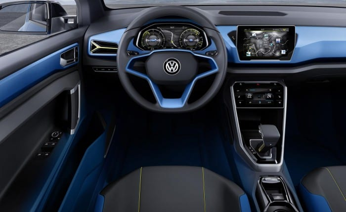 Volkswagen T-Roc Interior - Surf4cars