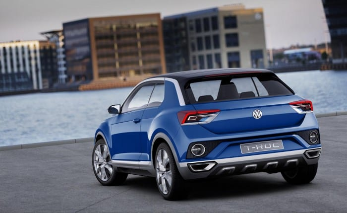 Volkswagen T-Roc Rear - Surf4cars