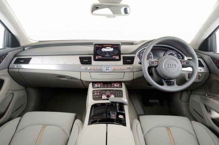 Audi A8 Interior - Surf4cars