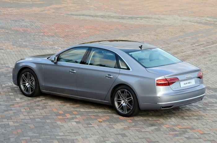 Audi A8 Side Static - Surf4cars