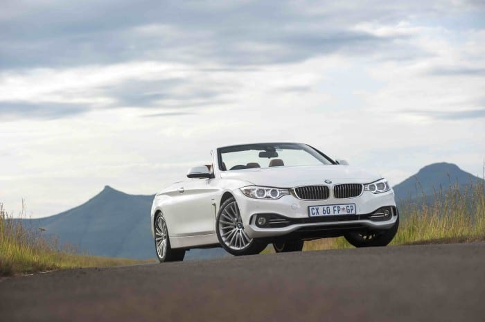 BMW 4-Series Convertible Front - Surf4cars