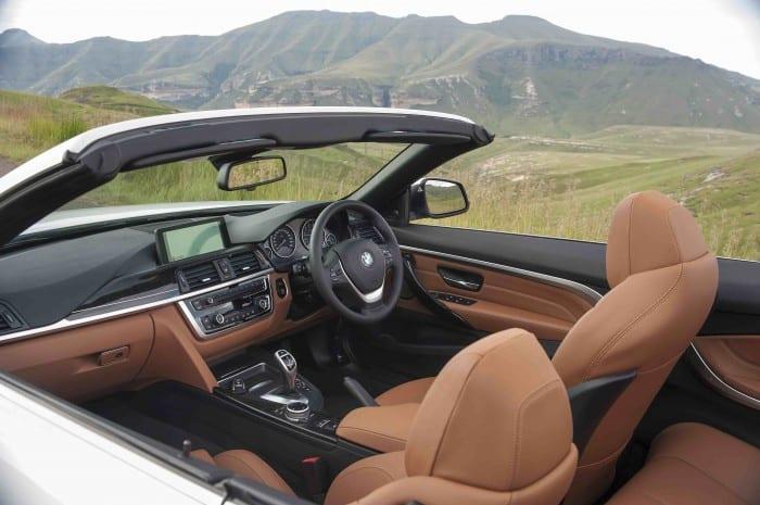BMW 4-Series Convertible Interior - Surf4cars
