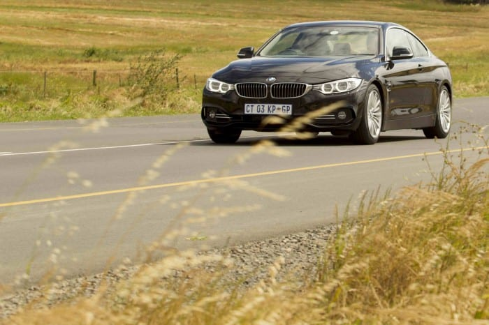 BMW 4 series coupe media launch