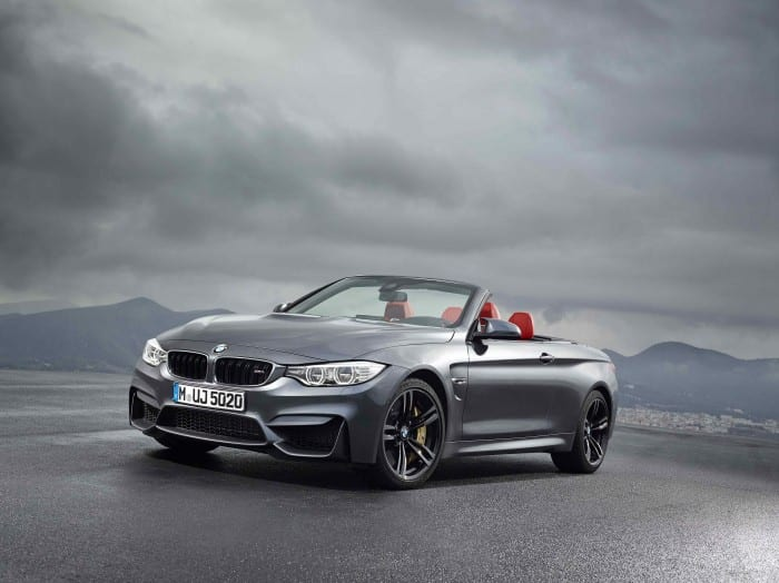 BMW M4 Convertible Front Side - Surf4cars