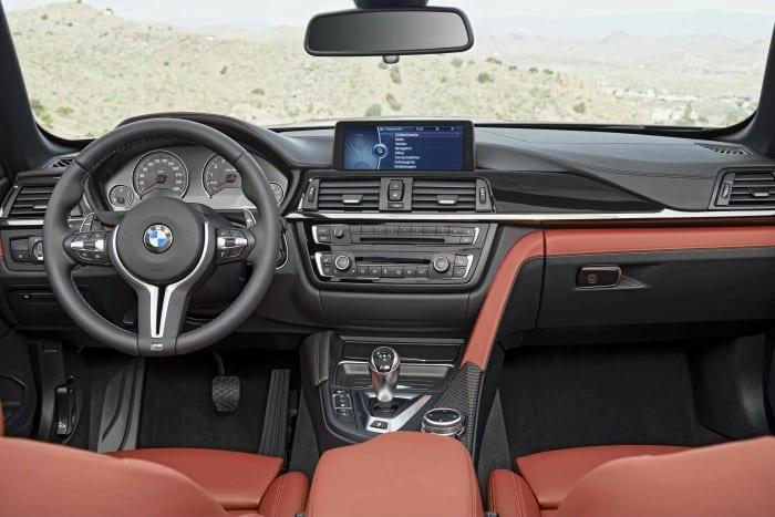 BMW M4 Convertible Interior - Surf4cars