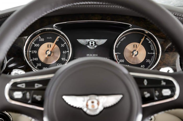 Bentley Hybrid Concept Instrument Panel - Surf4cars