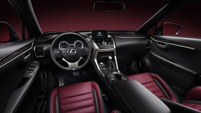 Lexus NX Interior - Surf4cars