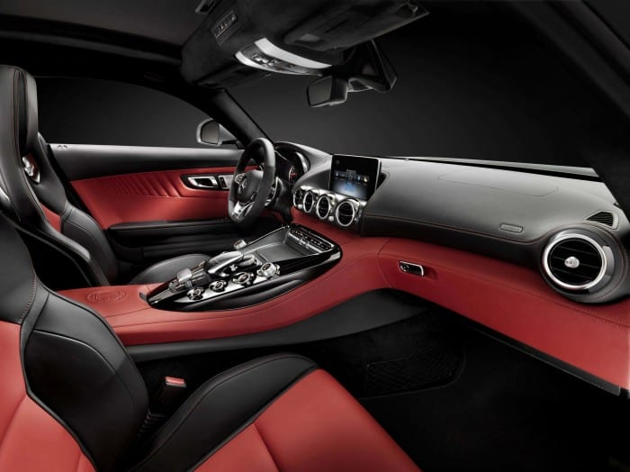 Mercedes-AMG GT Interior Side - Surf4cars