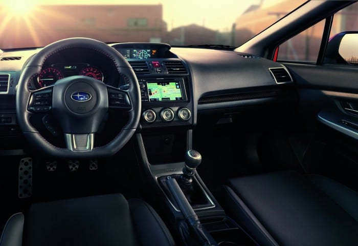 Subaru WRX Interior - Surf4cars