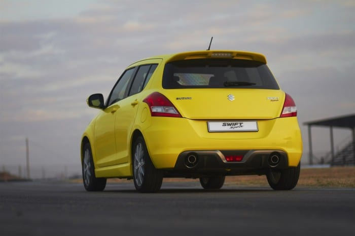 Suzuki Swift Sport Rear - Surf4cars