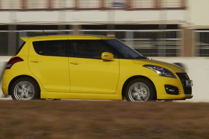 Suzuki Swift Sport Side - Surf4cars