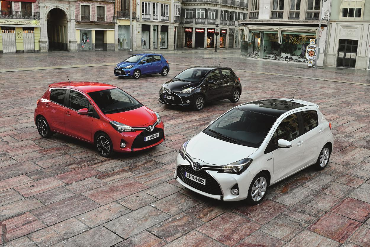 Manly Face For New Yaris: Latest News