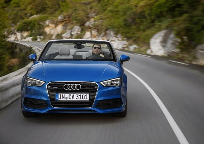 Audi A3 Cabriolet Front - Surf4cars