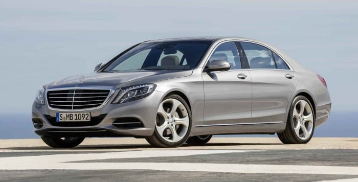Mercedes-Benz S-Class Angle - Surf4cars