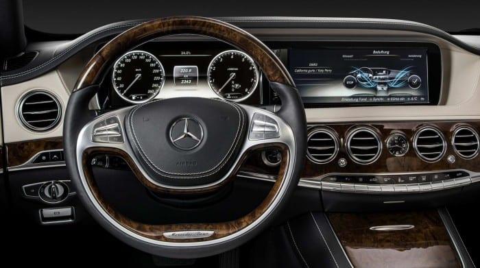 Mercedes-Benz S-Class Interior - Surf4cars