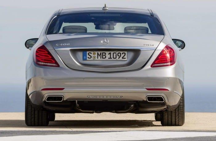 Mercedes-Benz S-Class Rear - Surf4cars