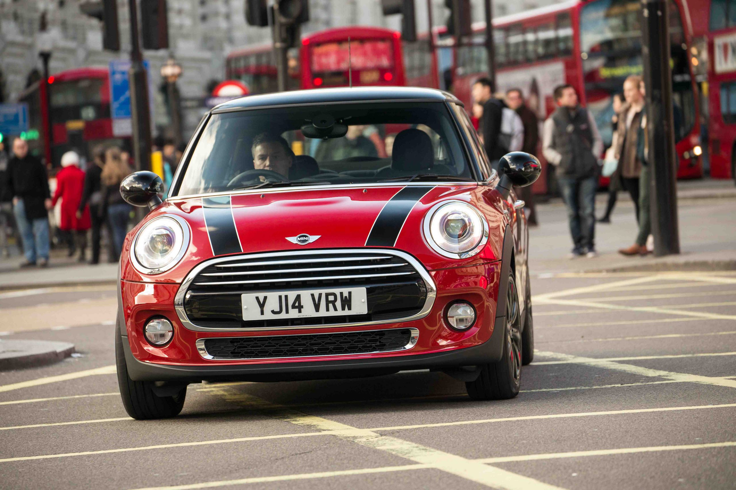 Mini Cooper Hatch 2014 Launch Drive