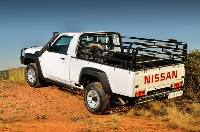 Nissan Patrol Pickup Rear Side - Surf4cars
