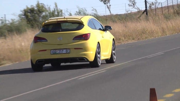 Opel Astra Rear Side - Surf4cars