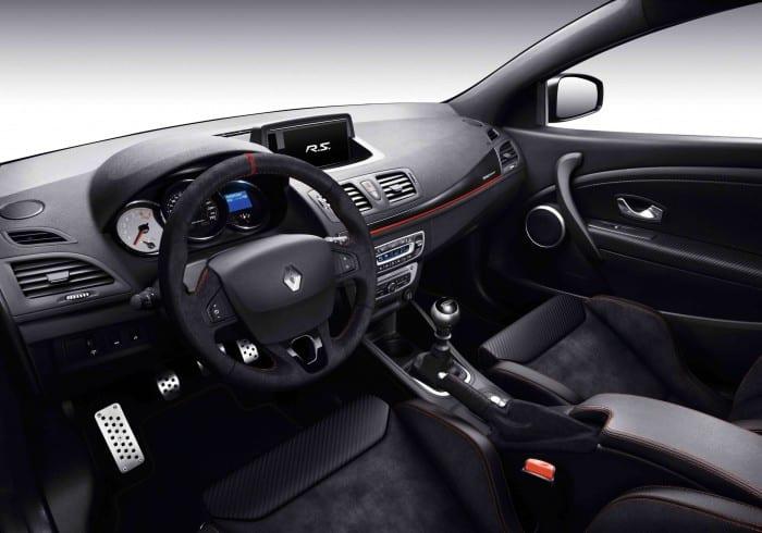 Renault Megane RS 275 Trophy Interior - Surf4cars