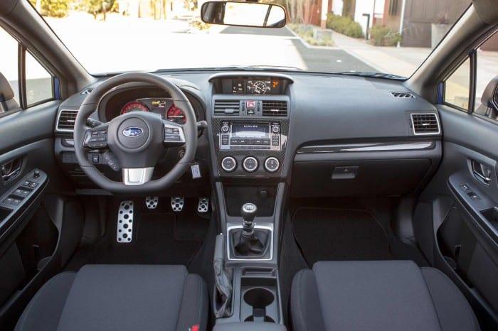 Subaru WRX Interior - Surf4cars