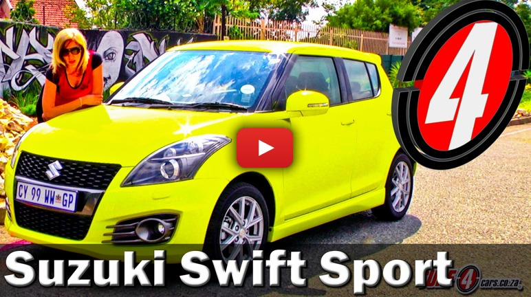 Suzuki Swift Sport (2014): Video Review