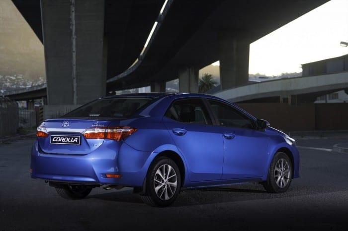 Toyota Corolla Rear Side - Surf4cars