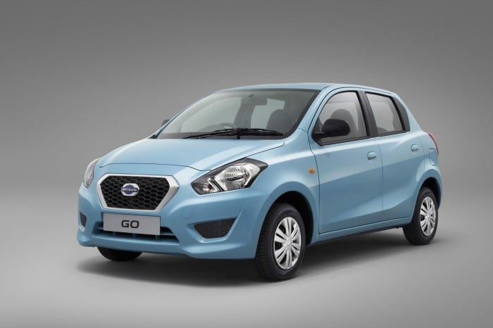 Datsun GO Front Side - Surf4cars