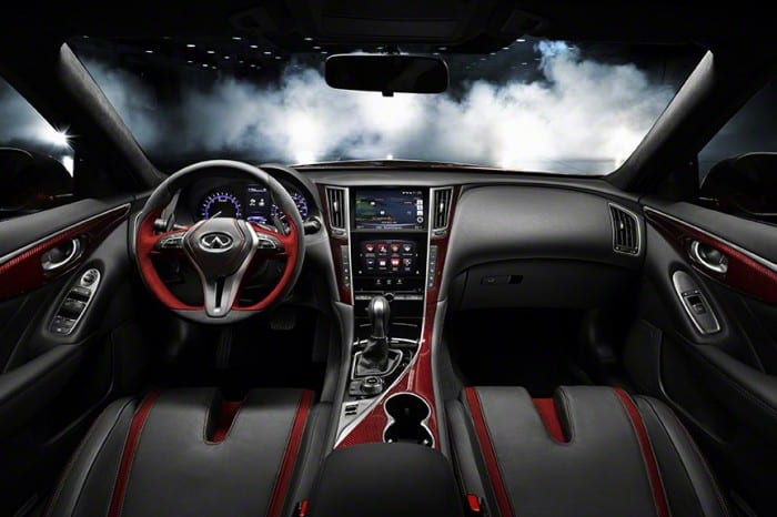 Infiniti Q50 Interior - Surf4cars