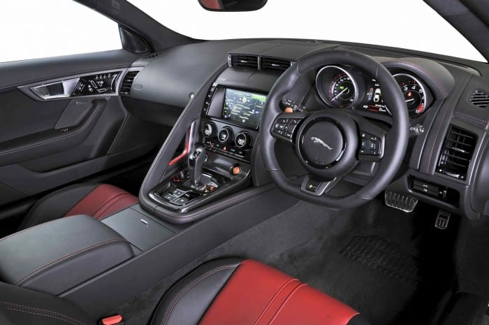 Jaguar F-Type Coupe Interior - Surf4cars