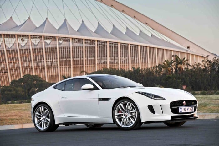 Jaguar F-Type Coupe SIde - Surf4cars