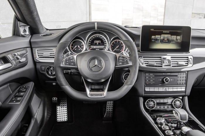 Mercedes-Benz CLS Interior - Surf4cars