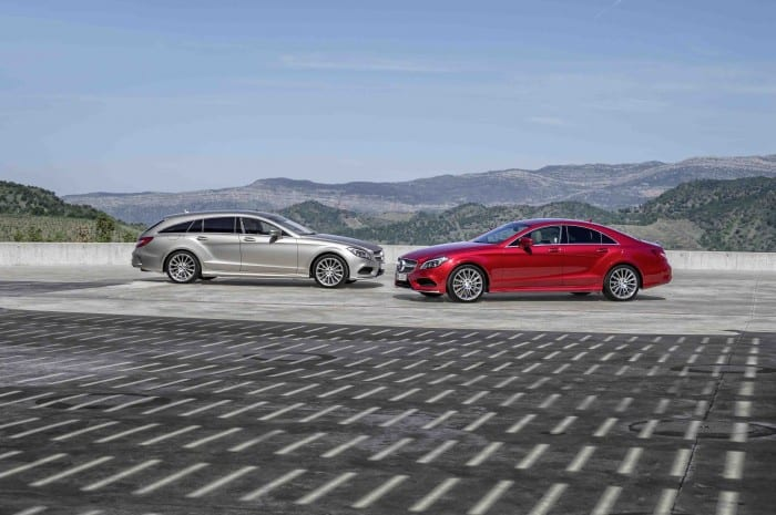 Mercedes-Benz CLS Pair - Surf4cars