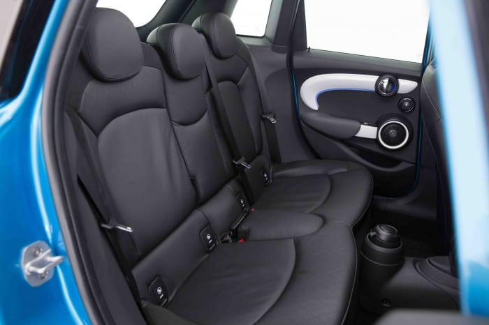 Mini Five Door Rear Interior - Surf4cars