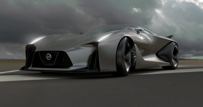 Nissan Vision 2020 Concept - Surf4cars
